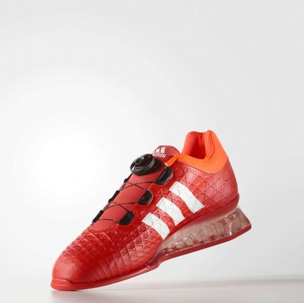 Leistung Magshop Vektløftersko Røde Adidas 16 qzMUpGSV