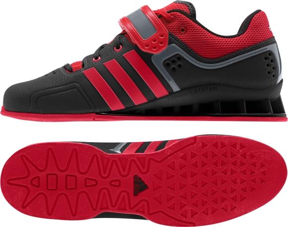 Adidas AdiPower Vektløftersko Røde Magshop